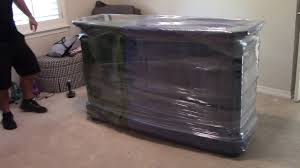 Plastic Furniture Wrap How To Wrap A Dresser With Mirror Moving Furniture In Friscotx
