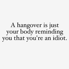 Hangover Quotes New Best Hangover Quotes Popular Quotes A Hangover Is Just Your Body