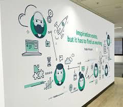 Office Wall Design Inspiration Quotewallcropped Office Wall Design Office Wall Graphics