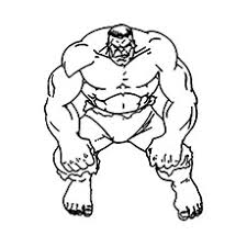 1 2 3 4 5 6. 25 Popular Hulk Coloring Pages For Toddler