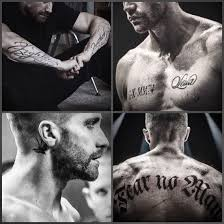 True Fighter Southpaw Tattoo Jake Tatuaggi Impressionanti