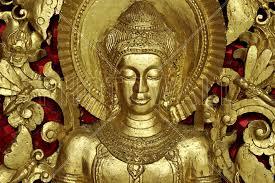 Buddha Luang Prabang Fotobehang Behang Photowall Product