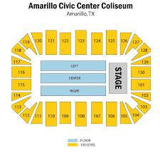 Amarillo Civic Center Coliseum Tickets Amarillo Civic