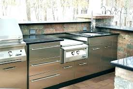 outdoor kitchen stainless steel cabinet doors stainless steel outdoor kitchen cabinets doors units kitchens marvelous out