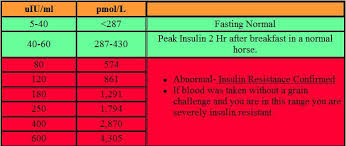 Insulin Test Results Faq Equine Medical And Surgical