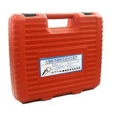 Us 10499 Universele Automotive Radiator Druk Tester Kit 14 Stks Auto Lek Detector Tool Auto Koelsysteem Koelvloeistof Vacuüm Purge Volledige Set