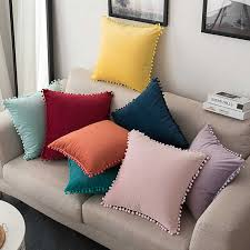 30x50cm/ <b>45x45cm</b>/ 55x55cm/ 60x60cm solid <b>thicken</b> linen fabric ...
