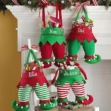 4 Styles Cute Christmas Elf Pants Stocking Candy Bag Kids Gift Bags Elf  Candy Bags For Children 4 Styles Stocking Christmas Decorations On Houses  Christmas ...
