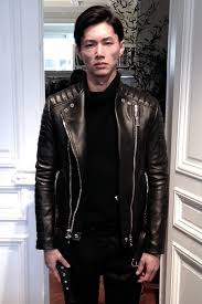 the leather biker jackets by acne are always among our favorite while