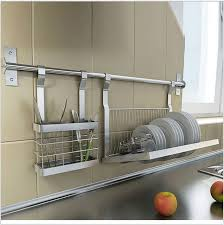 stainless steel kitchen shelves knivesdrill platedish rack storage with steel kitchen shelves