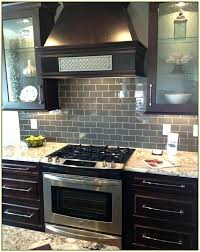 dark backsplash