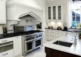 the best of black and white quartz countertops glass front kitchen cabinets mediterranean ecomanor with regard