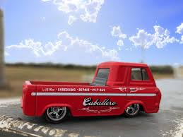 60s Ford Econoline Pickup (1963 Ford Econoline Pickup Truck) by Hot ...