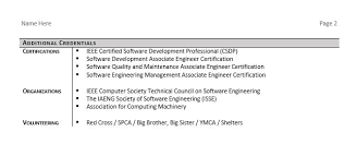 professional software engineer resumes software engineer resume example and tips zipjob