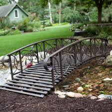 Metal Garden Bridge | Hayneedle