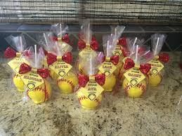 softball candy apples