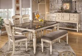 country dining room furniture. Country Dining Table With Bench Inside Room Amusing White Style Plan 7 Furniture T
