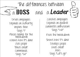 employment webman s view boss vs leader