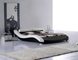 modern bedroom furniture images. Modern Leatherette Platform Bed CR1930 Bedroom Furniture Images