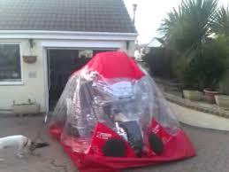 car bike bubble