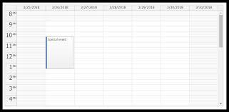 Calendar Overnight Scheduling Daypilot Documentation