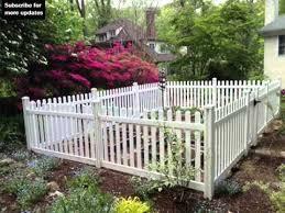 vinyl fencing for gardens fence ideas