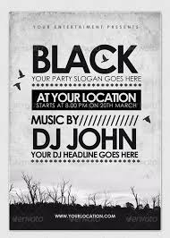 Black Flyer Backgrounds 20 Black Dark Flyer Templates Free Psd Eps Ai