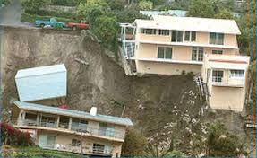 the steep slopes and rainstorms in the coastal town of laa beach california have resulted in serious landslides as many people antited