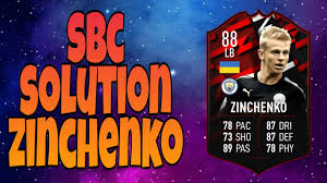 Career stats (appearances, goals, cards) and transfer history. Sbc Solution Zinchenko 88 Pacybits 20 Youtube