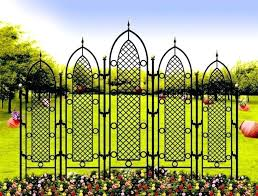 wrought iron screens for garden image of trellis