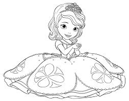Colora I Personaggi Di Sofia La Principessa Crafts Disegni Da