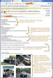 Summary Craigslist Templates Car Dealer Websites Auto Ad Manager