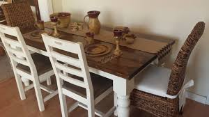 Laura james home offers stylish furniture at great prices. James James 6 Baluster Table In Dark Walnut And Ivory Farmhouse Other By James And James Furniture Houzz