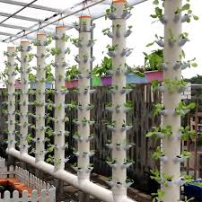 dwc hydroponics vertical tower gardern growing system tower garden accessories diy hydroponic pots in flower pots planters from home garden on