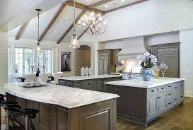 traditional kitchen with farmhouse sink urban renewal pendant calacatta marble chandelier multiple