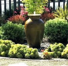 small outdoor water fountains garden small outdoor water fountain ideas