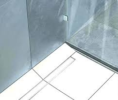 shower trench drain zurn linear home depot post infinity drains installation