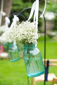 Decorated Jars For Weddings Santorini Wedding Inspiration 100 Ways to Decorate your Wedding 86