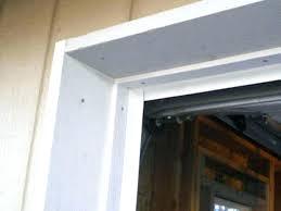 garage door jamb trim n fine frame molding