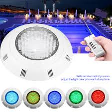 Multi Color Pool Light Us 42 41 38 Off 24 Led Rgb Underwater Swimming Pool Light Multi Color 12v 24w Rgb Remote Controller Outdoor Lighting Aterproof Underwater Lamp In