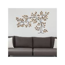 metal leaf wall art elegant stratton home decor metal tree branch wall decor brown metal