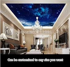 whole custom ceiling wallpaper nebula in the night sky 3d wallpaper for the living room bedroom ceiling background waterproof pvc backgrounds wallpaper