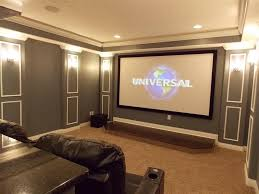 movie room lighting. Movie Room Lighting. Amazing Home Theater Rooms With Brown Nuance Combined Theatre Wall Lights Lighting H