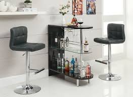 home bar furniture modern. Modern Bar Furnitue Set Mixed With Two Black Chairs And Minimalist Table Also Some Various Drinking Bottles Home Furniture O