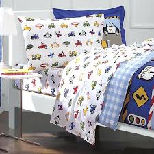 truck bedroom set boys trucks 2 twin bed sets for boy cars airplane police car bedding