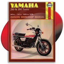 1973 1975 yamaha rd350 haynes repair manual 40 service garage maintenance