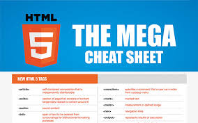 Html5 Cheat Sheet Cheat Sheets For Frontend Developers
