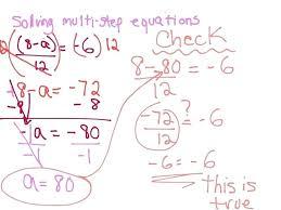 solving multi step equations worksheet answers worksheetworkscom
