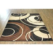 black brown beige rugs abstract circular design power loomed area rug x