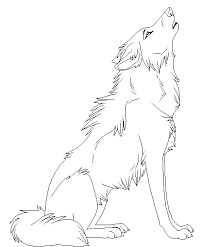 Small Picture Wolf coloring pages available on this webpage helps the children